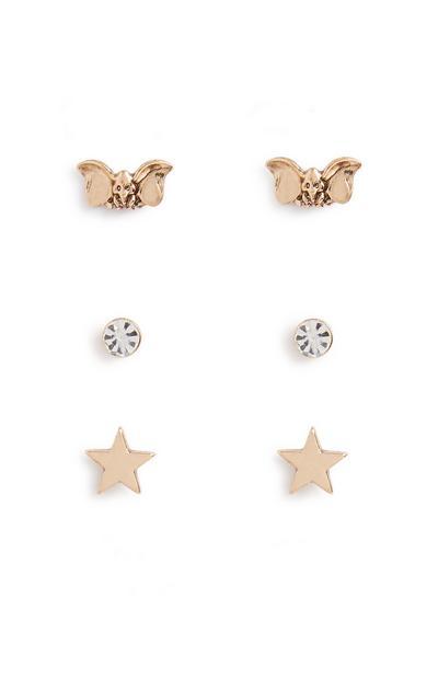 Dumbo Earring 3pk