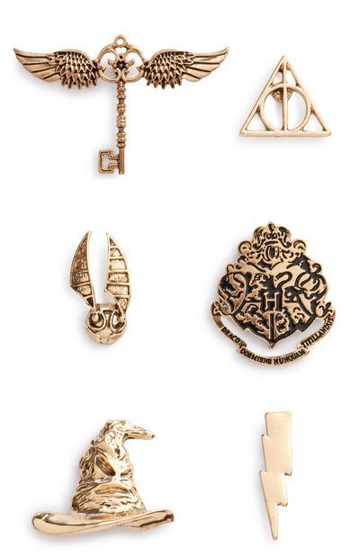 Harry Potter Badge 5Pk