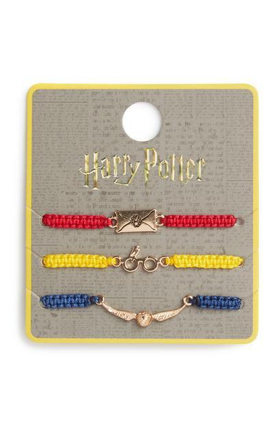 Harry Potter Braclets 3Pk