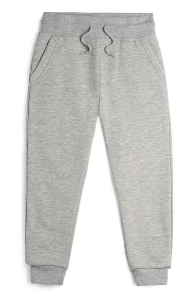 Younger Boy Grey Joggers