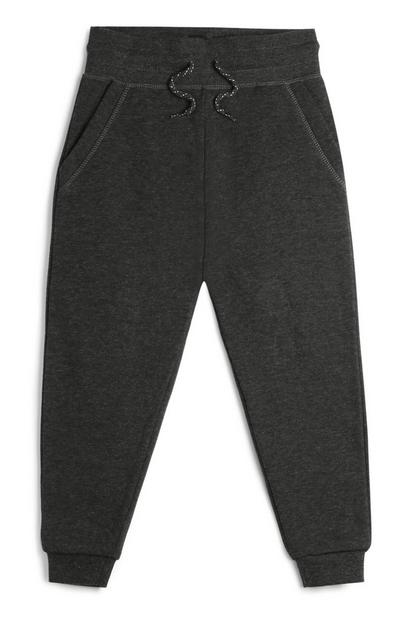 Younger Boy Black Joggers