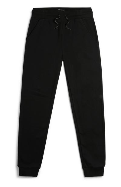 Older Boy Black Joggers
