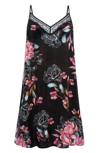 Dark Bloom Chemise