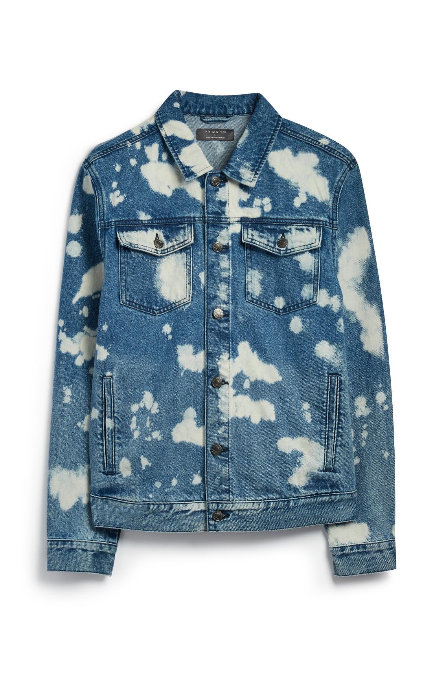 Bleached Denim Jacket