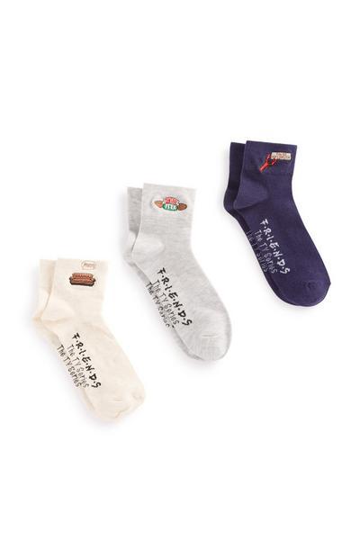 Friends Socks 3Pk