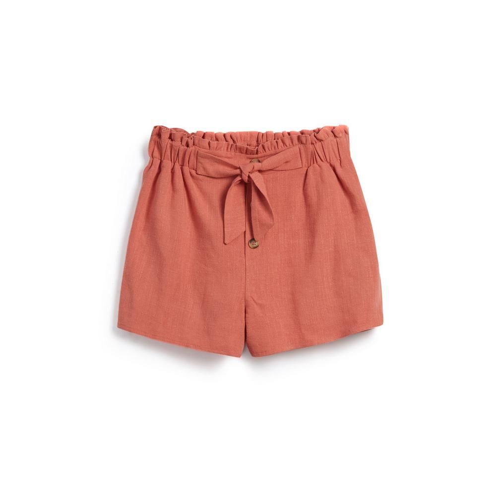 nuova collezione 9509a a15de Shorts con cintura ragazza | Shorts da ragazza | Moda ...