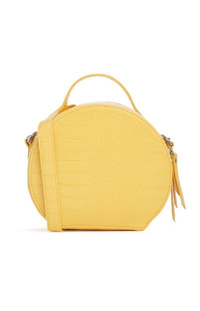Yellow Croc Bag