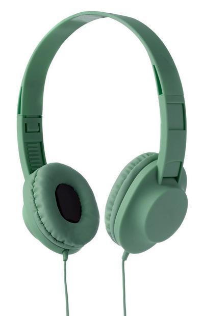 Green Headphones
