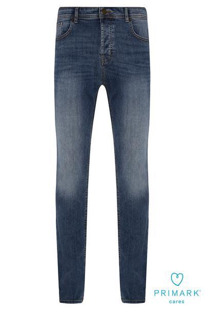 Dark Blue Slim Sustainable Cotton Jeans