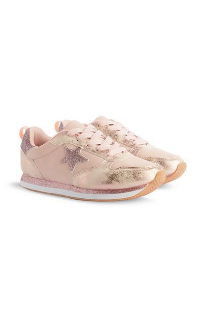 Pink Glitter Star Trainer
