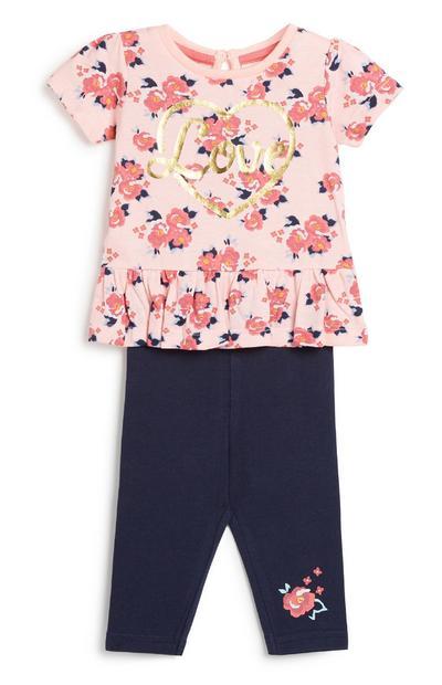 2-teiliges Outfit-Set für Babys (M)