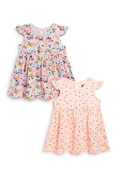 Baby Girl Dress 2Pk