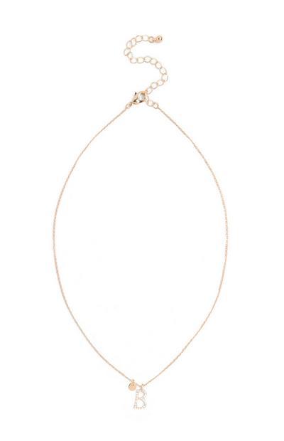 Initial Pendant Necklace