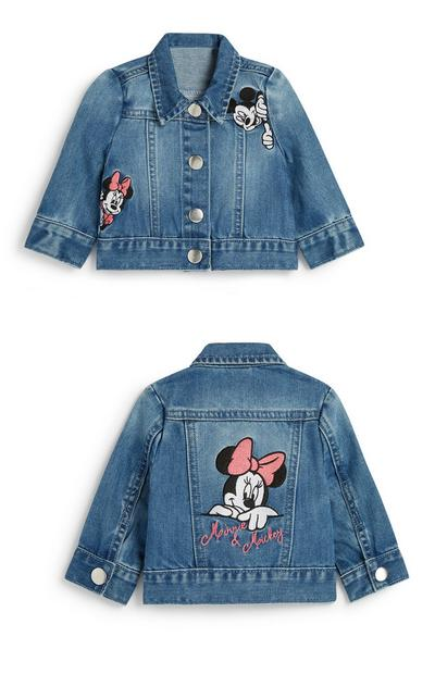 Baby Girl Minnie Mouse Denim Jacket
