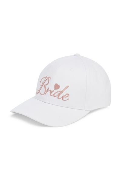 White Bride Cap