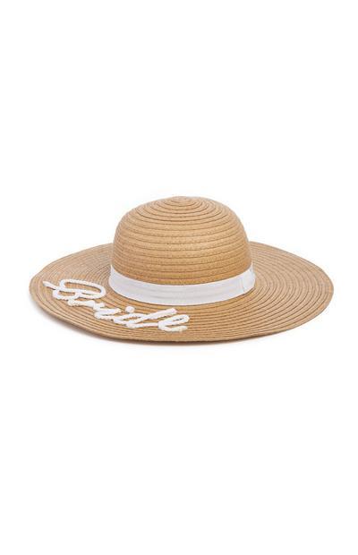 Bride Straw Hat