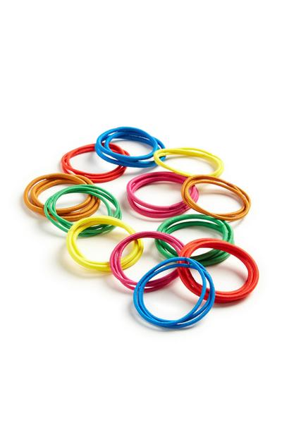 Rainbow Hairbands 60Pk
