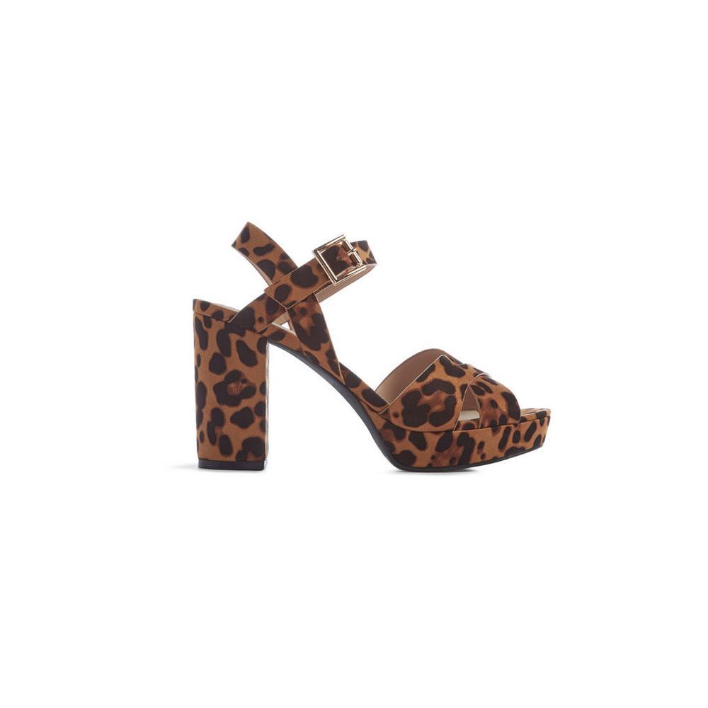 Nova dames leopard enkellaarsjes | Scapino.nl