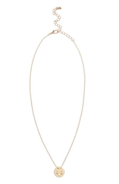 Star Sign Necklace Libra