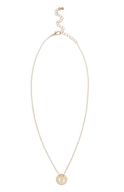 Star Sign Necklace Pisces