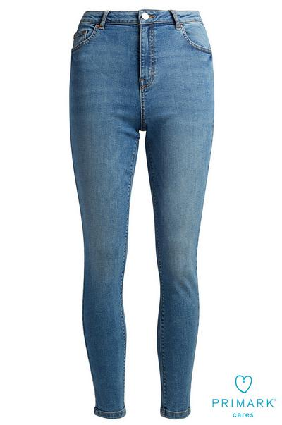 Skinny High Waisted Sustainable Cotton Jeans