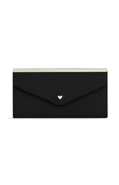 Black Heart Purse
