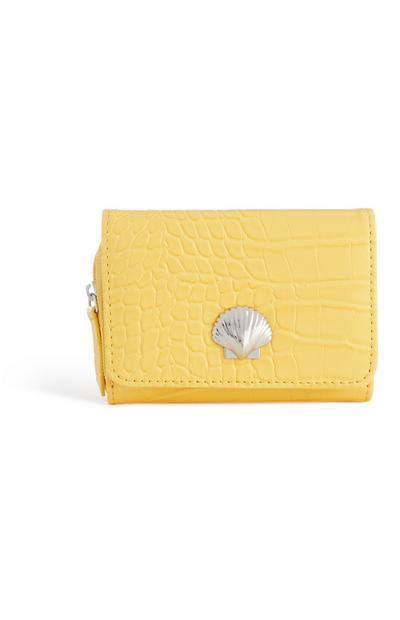 Yellow Shell Purse
