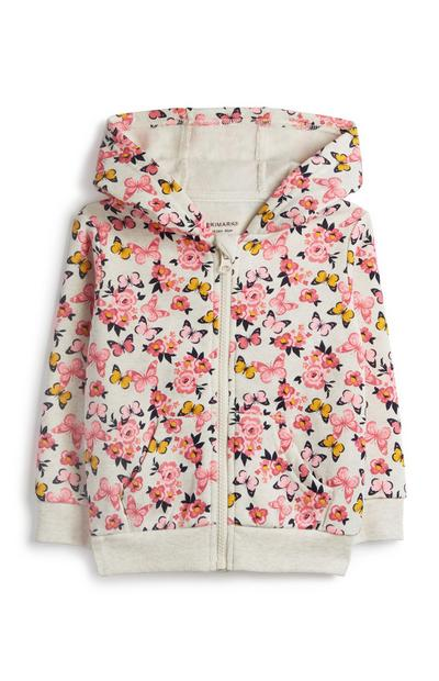 Baby Girl Butterfly Hoodie