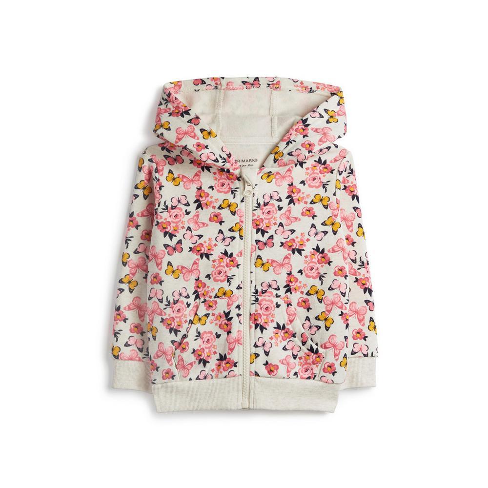chaussures classiques Clairance de 60% disponible Sweat à capuche à motif papillons bébé fille | Chemises et ...