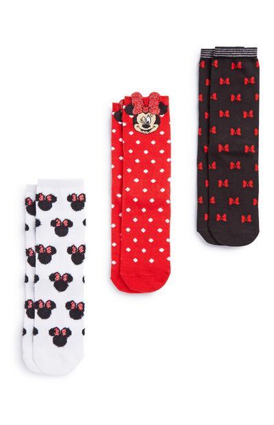 Minnie Mouse Socks 3Pk