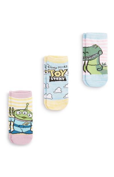 Toy Story Sock 3Pk