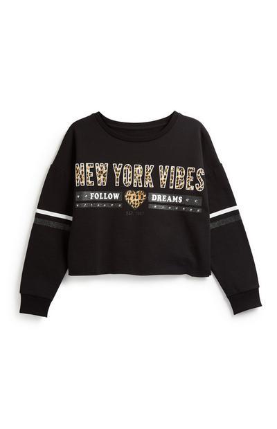 Older Girl NY Sweatshirt