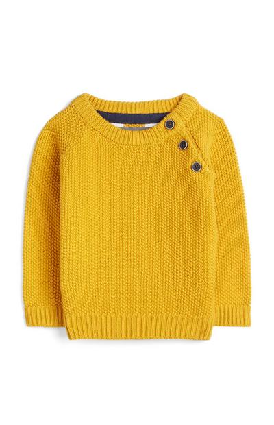 Baby Boy Yellow Jumper