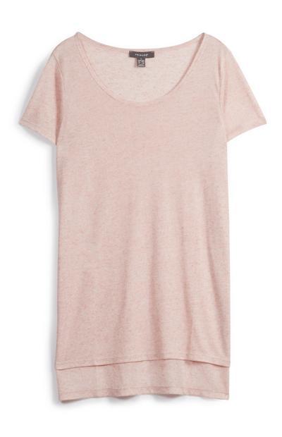 Pink Long Top