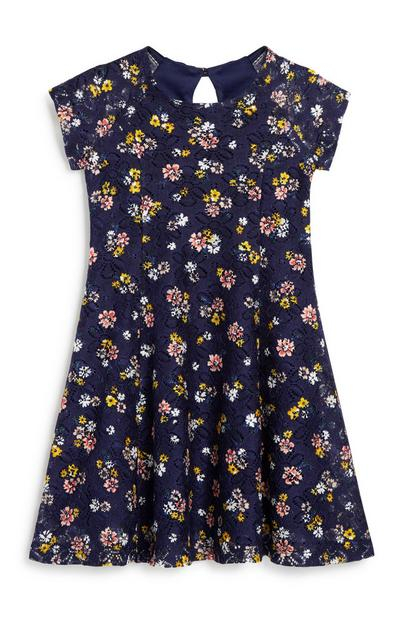 Younger Girl Floral Dress