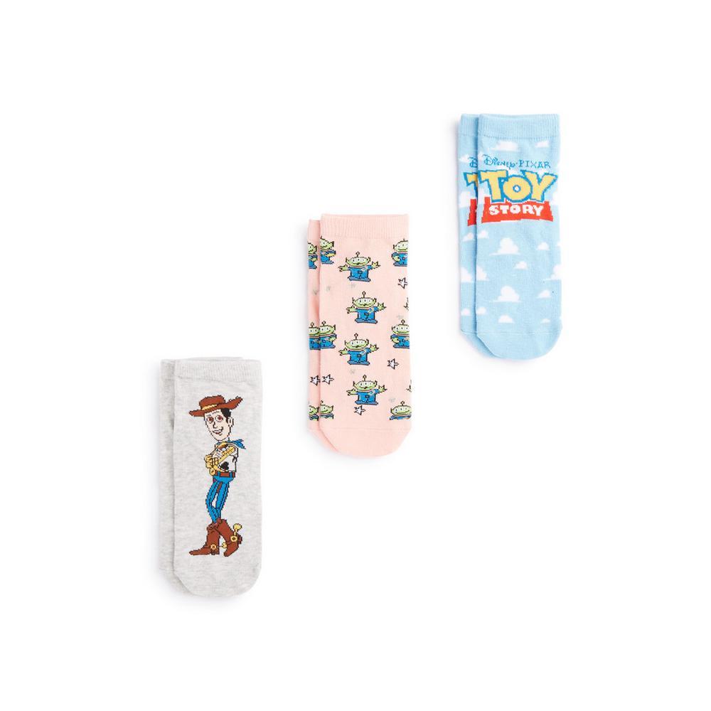 meilleure sélection 76f8d 66c64 Lot de 3 paires de chaussettes Toy Story | Chaussettes et ...