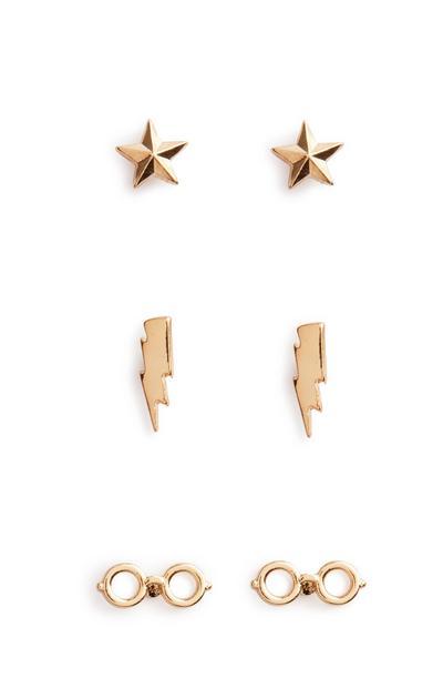 Harry Potter Earring 3Pk