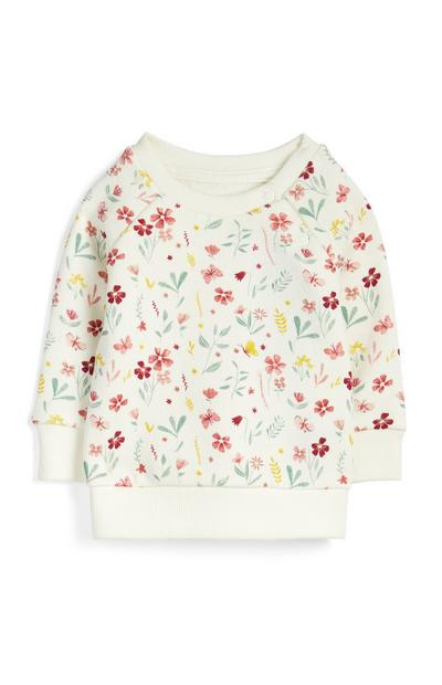 Baby Girl Floral Jumper