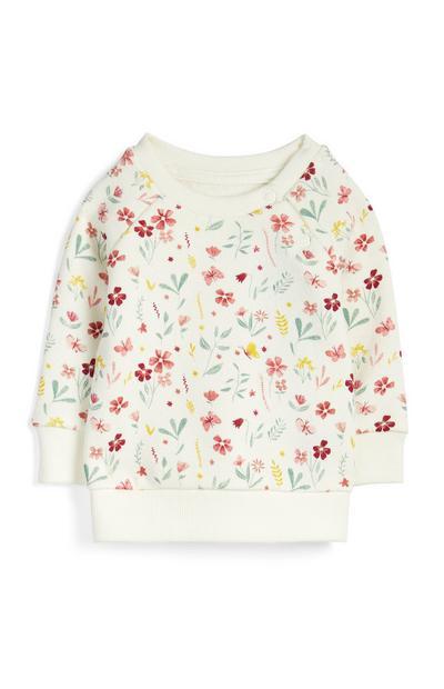 Baby Girl Floral Jumper
