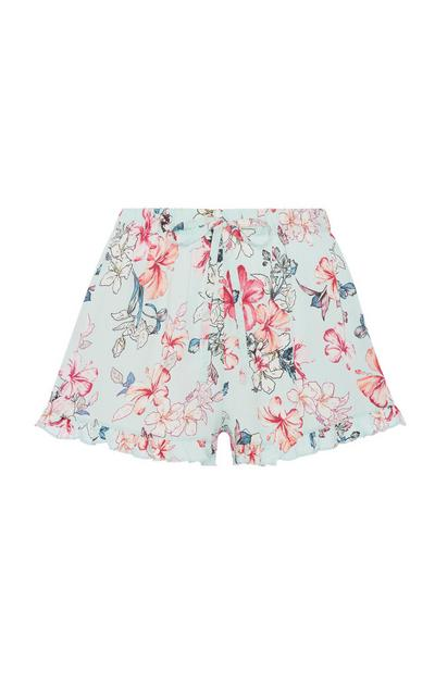 Floral Pyjama Short