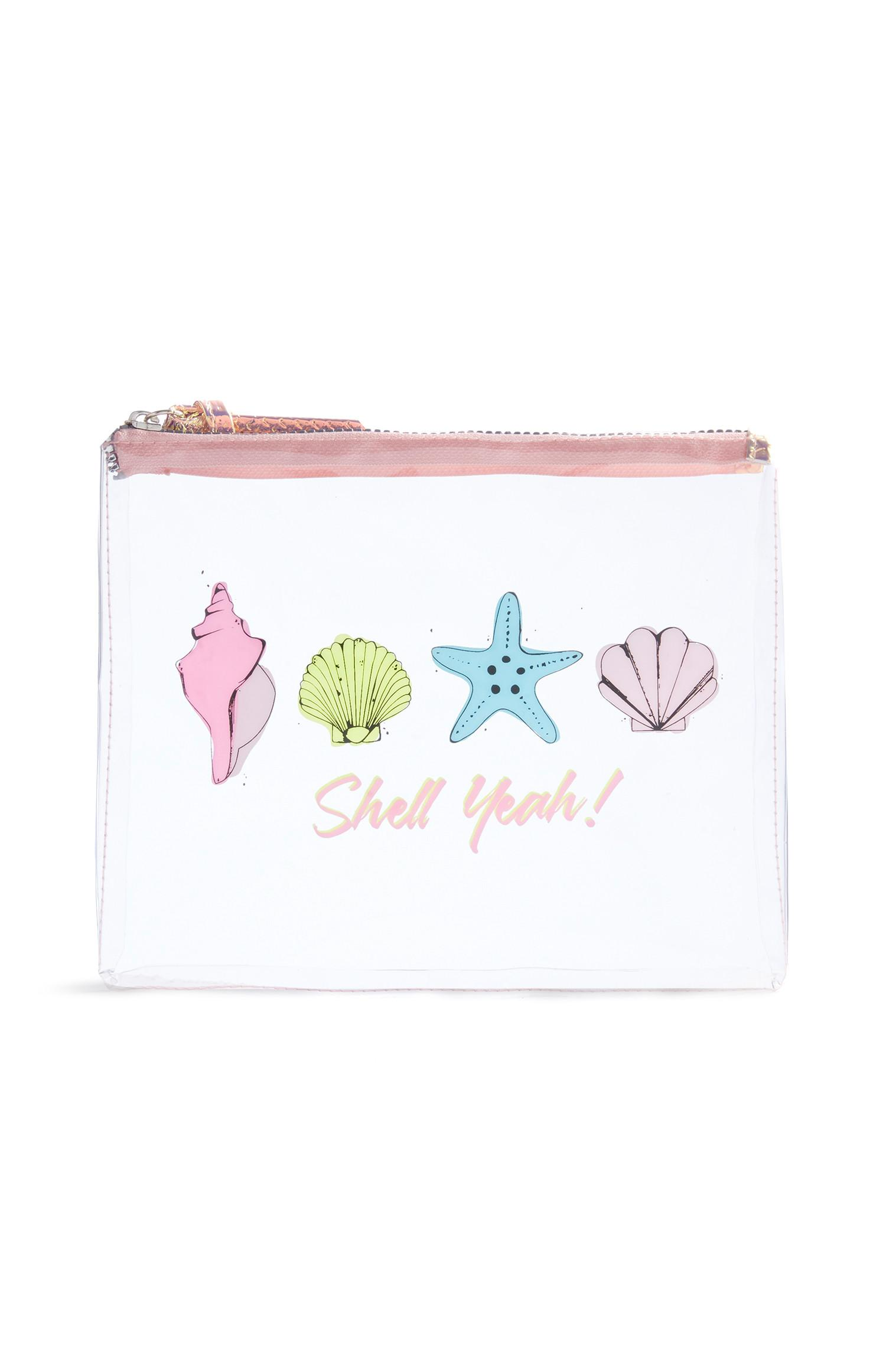 Shell Make Up Bag