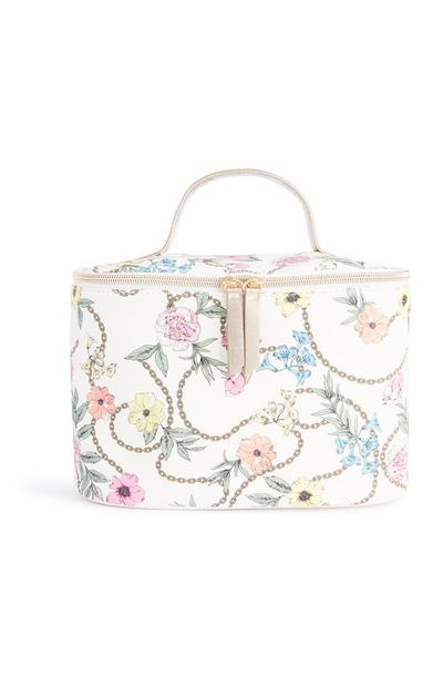 Floral Chain Box Bag