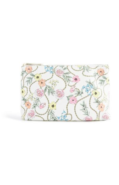 Floral Chain Make Up Bag