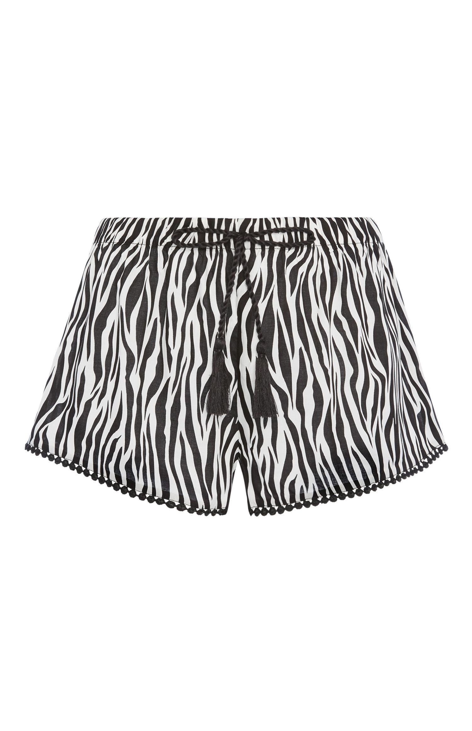 Zebra Print Short