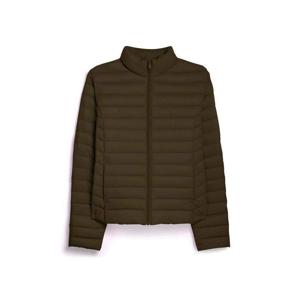 Olive Superlight Padded Jacket by Primark