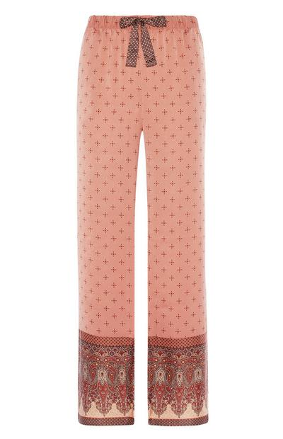 Satin Border Pyjama Trouser