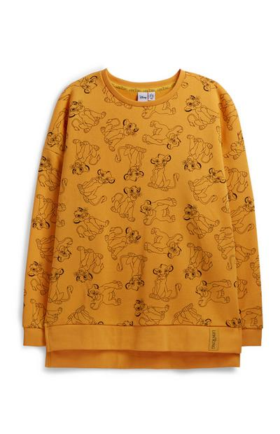 Yellow Lion King Jumper