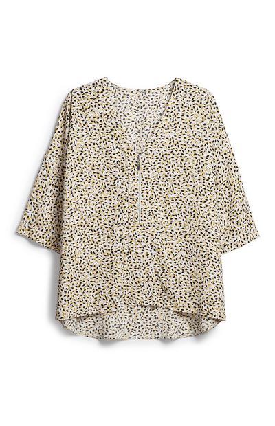 Oversized Zipped Shirt