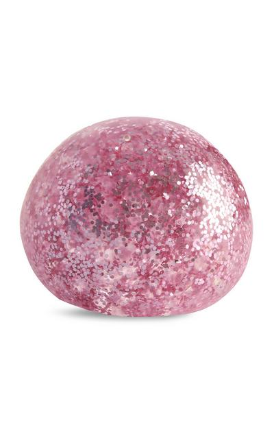 Pink Glitter Jelly Ball