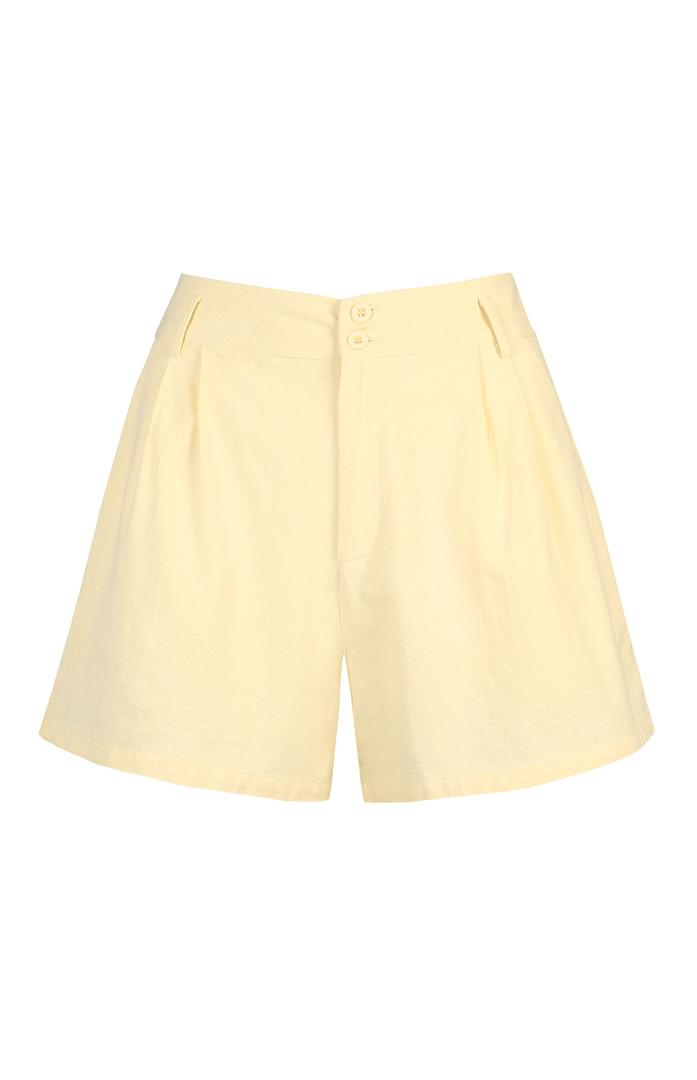 Shorts giallo limone